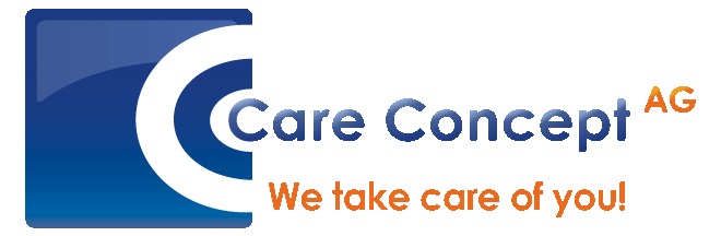 Care Concept AG • Auslandskrankenversicherung / Auslandsversicherung ab € 0,85 / Tag